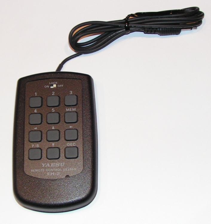 FT2000 : Clavier FH2 - Telecommande Messages audio et CW Clavier-ft-2-01