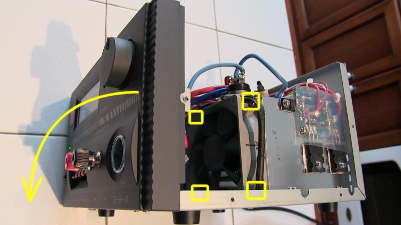 Diamond GSV3000 : Alimentation bruyante au démarrage - Modification de la gestion de la vitesse du ventilateur Copie_de_GSV3000_Transistor_puissance_protect_tension