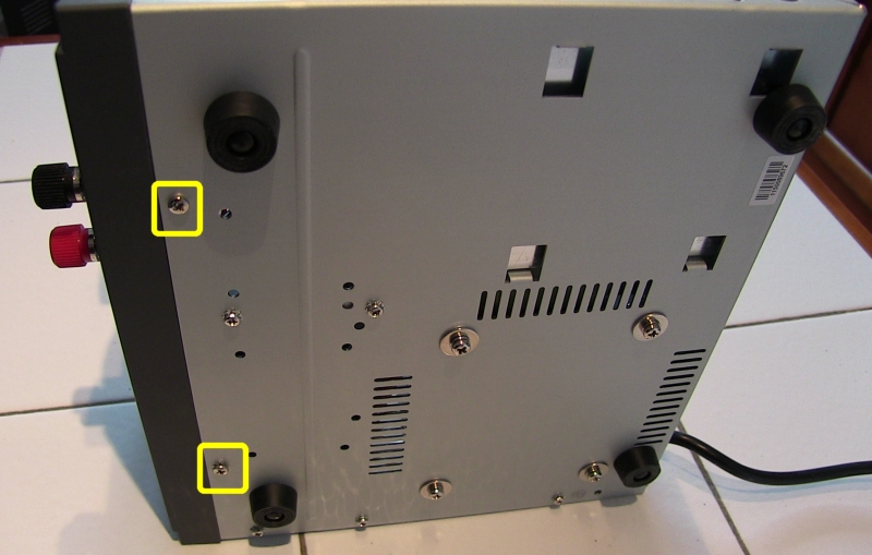 Diamond GSV3000 : Alimentation bruyante au démarrage - Modification de la gestion de la vitesse du ventilateur GSV3000_Dessous01