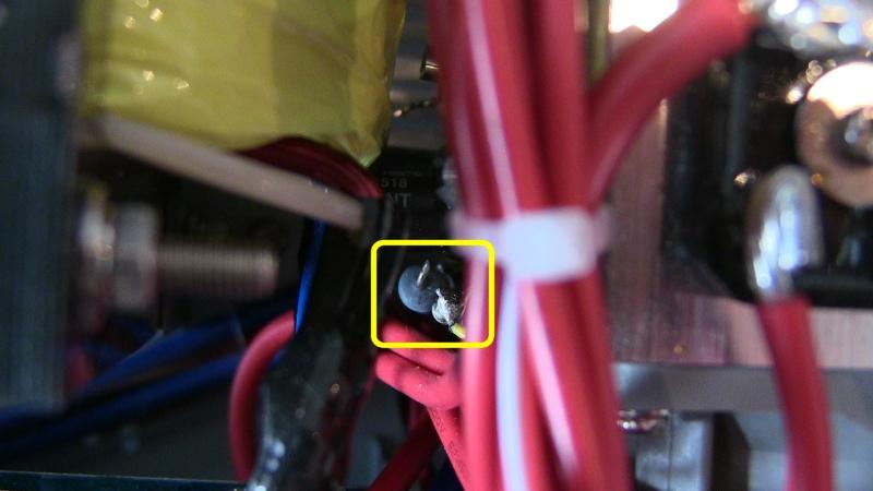 Diamond GSV3000 : Alimentation bruyante au démarrage - Modification de la gestion de la vitesse du ventilateur GSV3000_Resistance_a_couper02