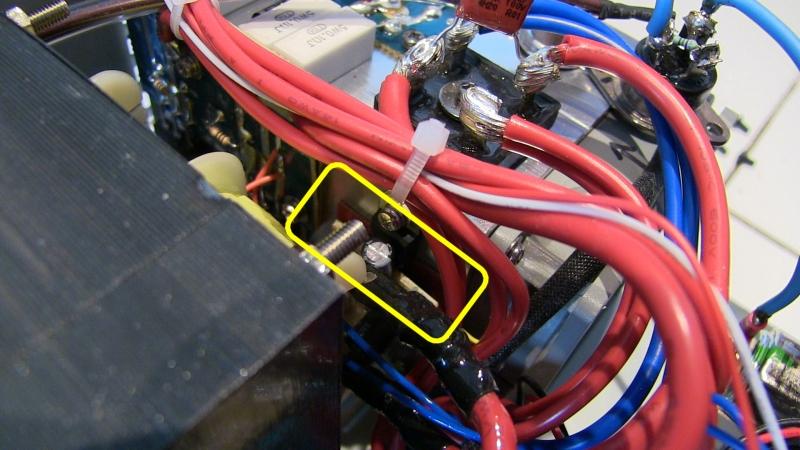 Diamond GSV3000 : Alimentation bruyante au démarrage - Modification de la gestion de la vitesse du ventilateur GSV3000_resistance_a_couper_localisation