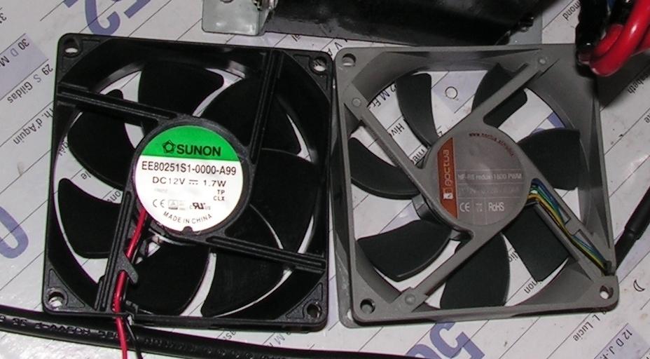 Diamond GSV3000 : Alimentation bruyante au démarrage - Modification de la gestion de la vitesse du ventilateur Gsv3000-ventilateur-remplacement