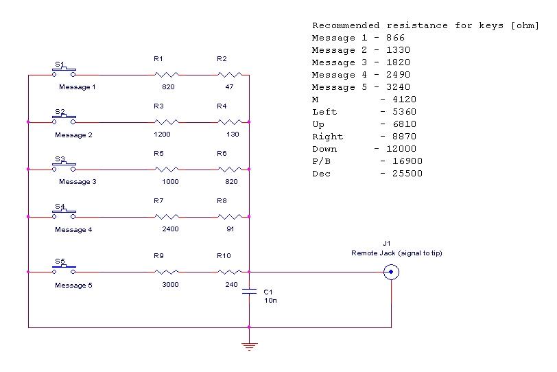 FT2000 : Clavier FH2 - Telecommande Messages audio et CW Schema-fh2-ft2000