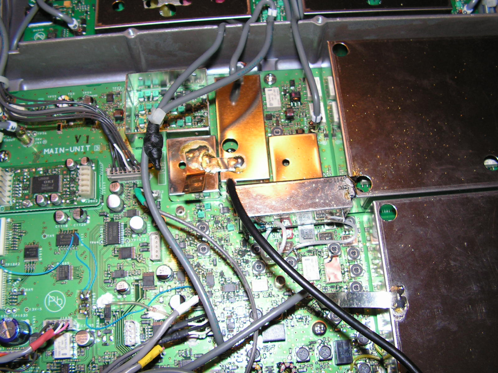 FT2000 : Dongle RTL SDR - Mise en place Connecteur-h-crampe2