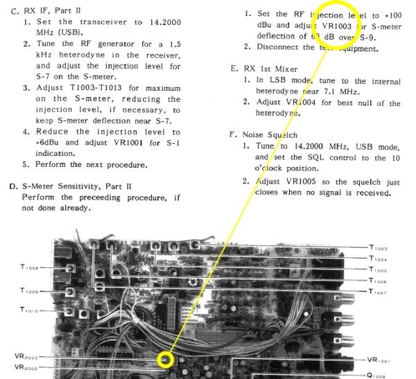 Yaesu FT747 GX : Réception faible [RESOLU] VR1003_reglage_s-metre