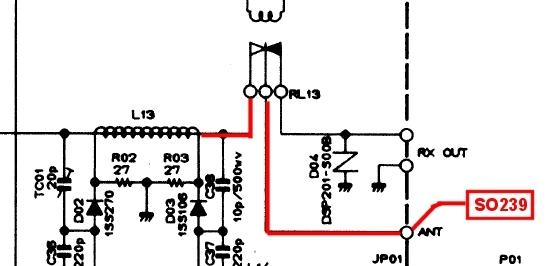 FT747 GX : Panne en émission  Chemin-panne-emi