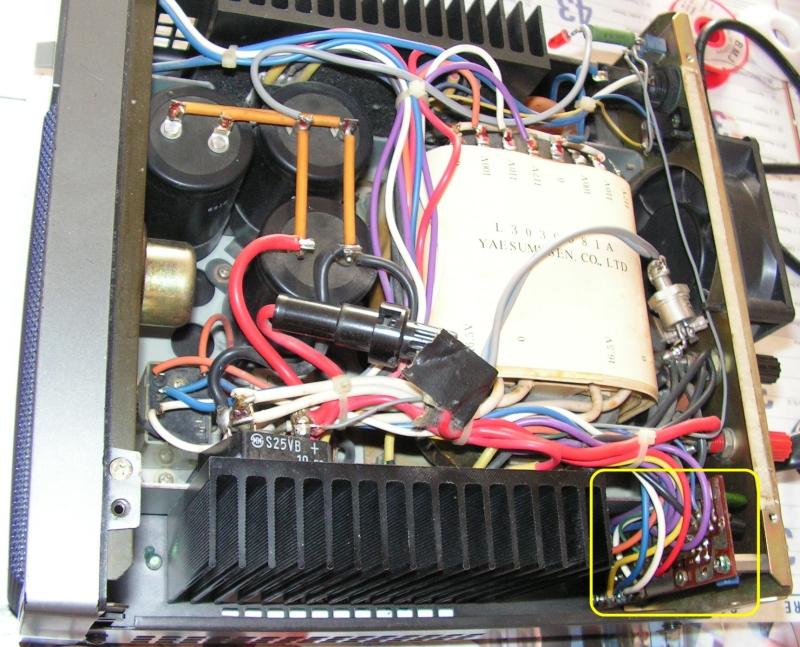 FP757 HD - Panne Alimentation Yaesu : Relais bruyant n'arrêtant pas de battre Fp757-0