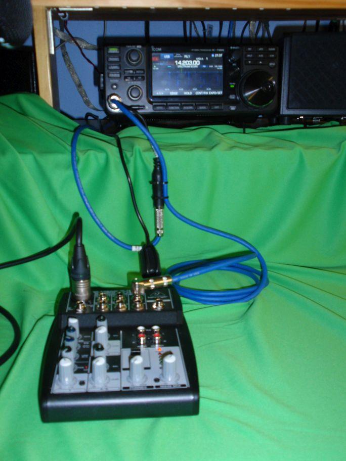 ICOM IC7300 et HEIL PR781