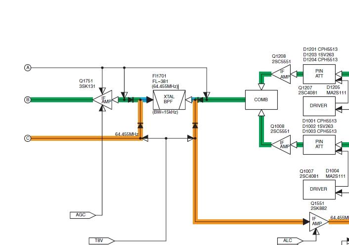IC756pro et IC756 : Sélectivité - Avis IC756pro-filtre-1ereFI