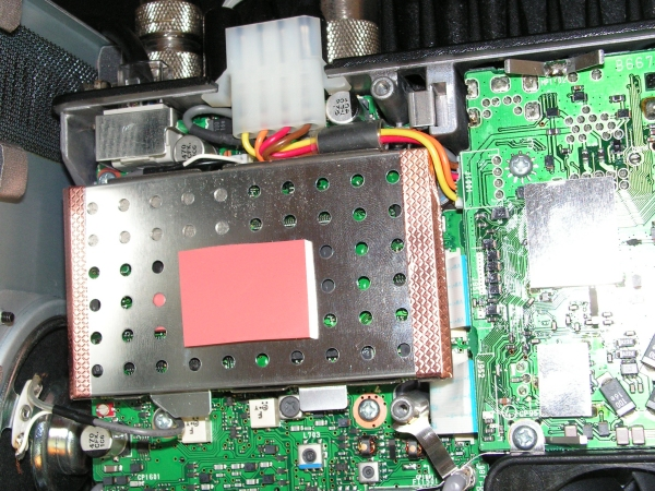 IC7000 : Perte de l' heure / Changer la pile / Changer l'accumulateur Logic-unit