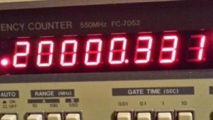 TCXO pour Kenwood : Oscillateur de référence compensé en température à prix intéressant Decalage-tcxo