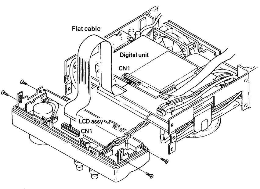 Kenwood TS 50 : Panne - Certaines touches/commandes de face avant inopérantes Touches-fav-3