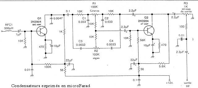 Préampli Micro intéressant Micro