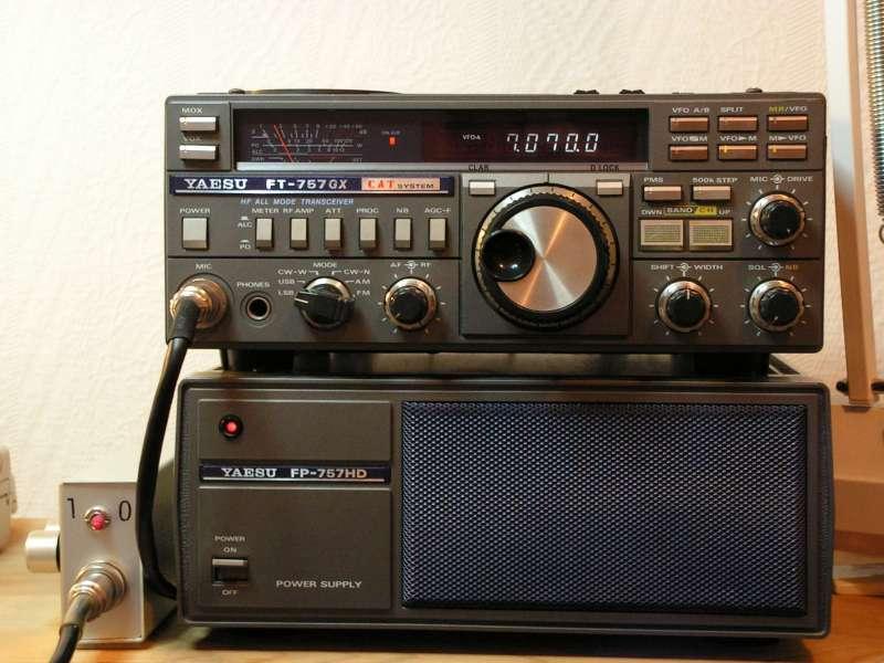 Dérive en fréquence - VFO HS FT757 Micro8a
