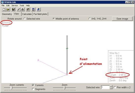 MMANA : Diagramme de rayonnement d'antenne - Exemple d'utilisation Image10