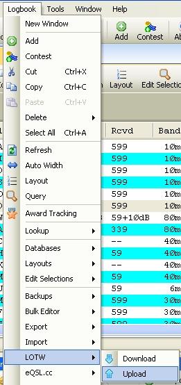QRZ.COM : Mettre à jour rapidement son log informatique 01