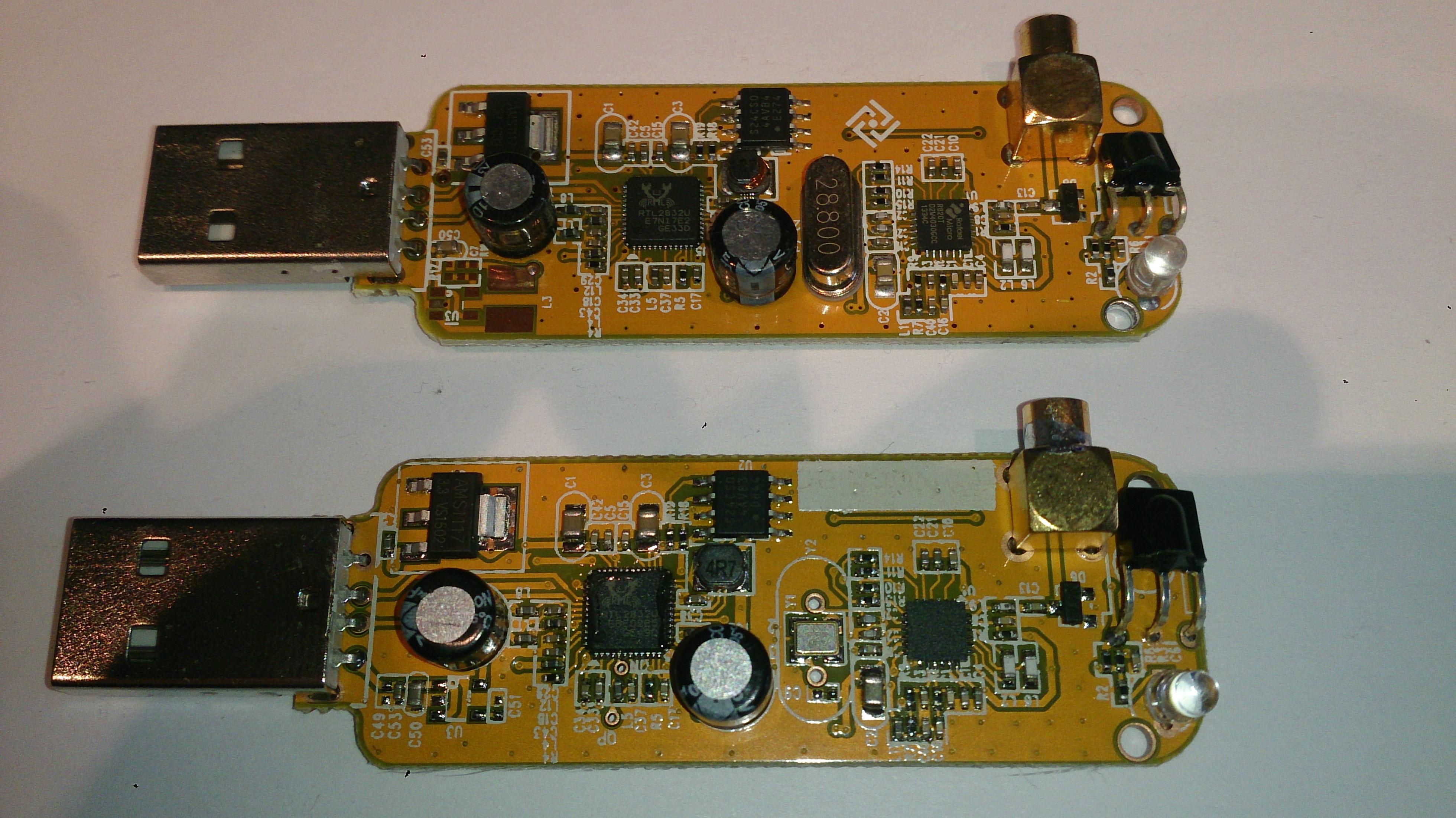Clé RTL SDR R820T2 de Technofix UK largement supérieure aux autres RTL_SDR_820T1&2_01