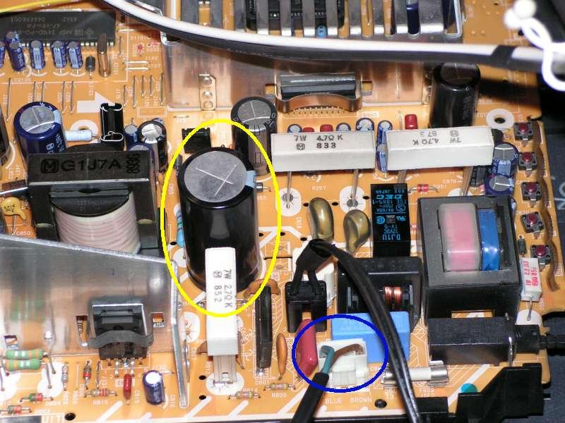 Repérer et décharger le condensateur du téléviseur/moniteur Condensateur-a-decharger2