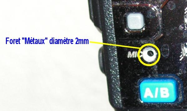 UV5R BAOFENG : Améliorer le micro très facilement et à peu de frais Amelioration-micro-uv5r2