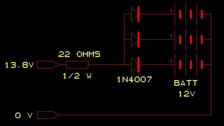 Stockage longue durée de plusieurs batteries 12V Sauv-batt
